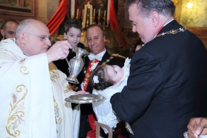 Cavalieri di Malta Battesimo